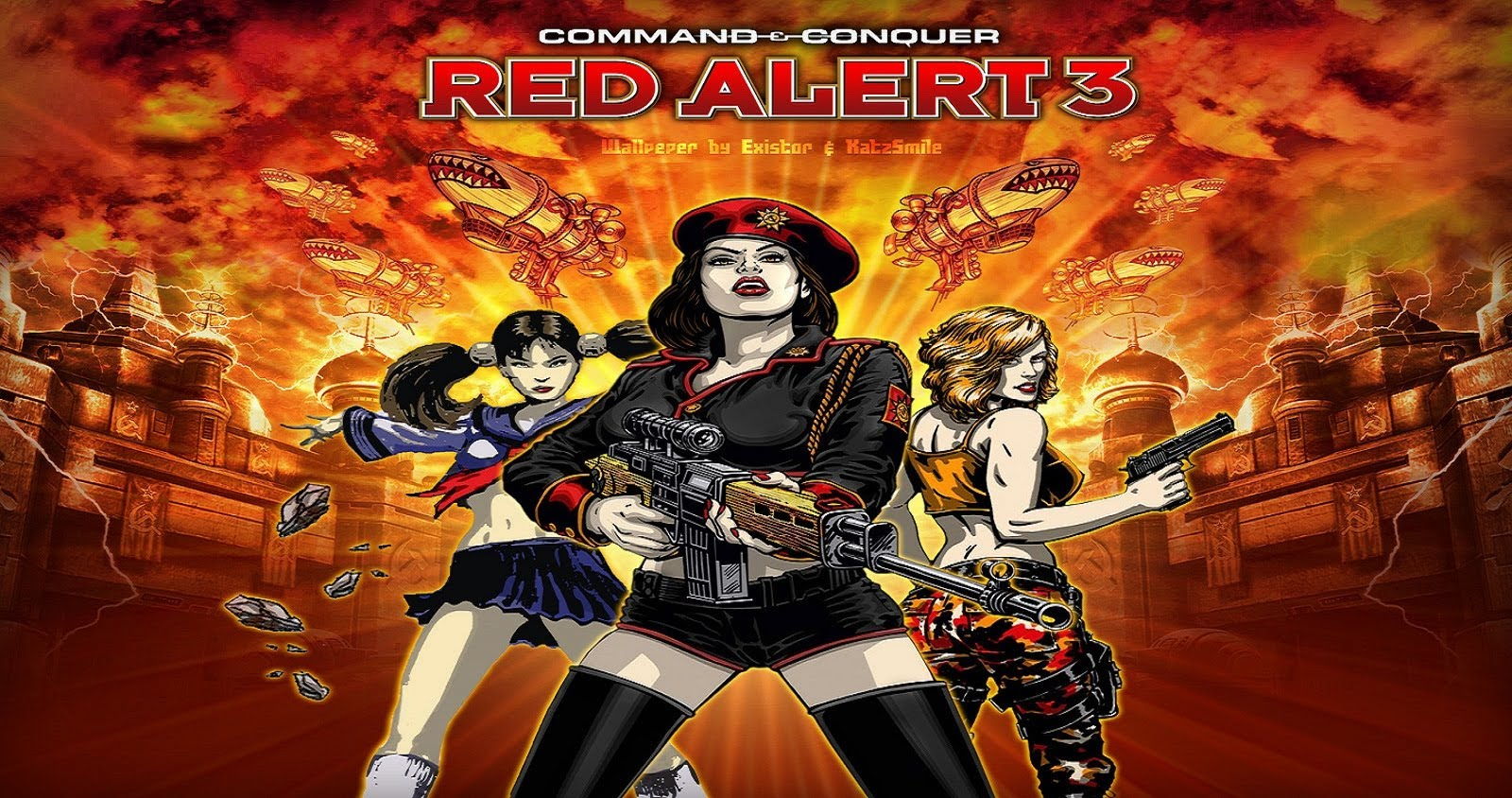 Command And Conquer: Red Alert 3 Free Download For Windows
