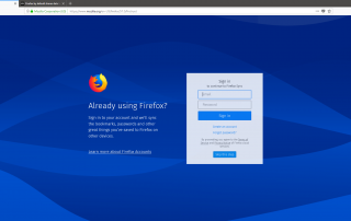 Firefox Screenshots