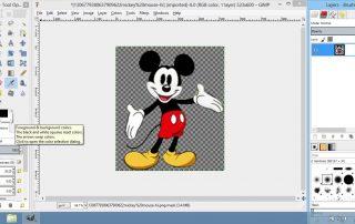 GIMP Screenshots