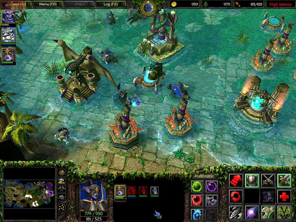 Warcraft 3 Free Download (PC) - Includes The Frozen Throne expansion + Multiplayer