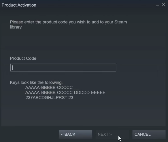 Redeem a Steam Gift Card or Wallet Code