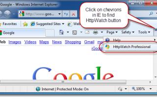 Google Toolbar (IE)