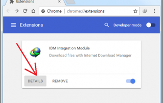 IDM Integration for Chrome