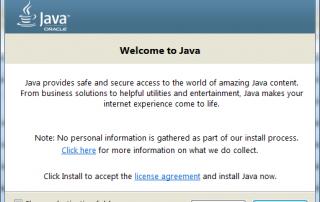 Java SE Runtime Environment 8